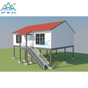 Low Cost Prefab Villas Light Steel Frame Home